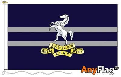 QUEENS OWN ROYAL WEST KENT REGIMENT  ANYFLAG RANGE - VARIOUS SIZES